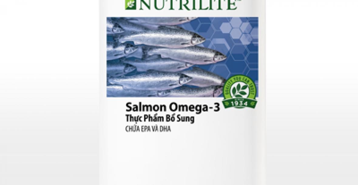 Nutrilite Salmon Omega – 3 của Amway Viên Dầu Cá Omega 3 Giá Rẻ