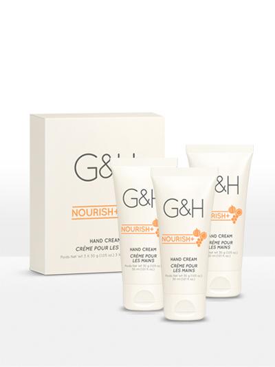 Kem dưỡng ẩm da tay Amway G&H Nourish+ (3×30 g)
