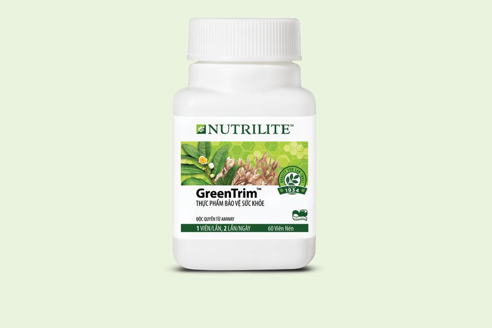 Greentrim Nutrilite Amway giảm cân bằng trà xanh