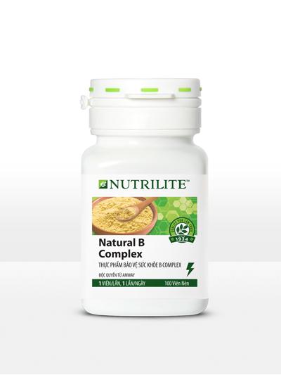 Nutrilite Natural B Complex Thực phẩm bổ sung B Complex (100 viên)