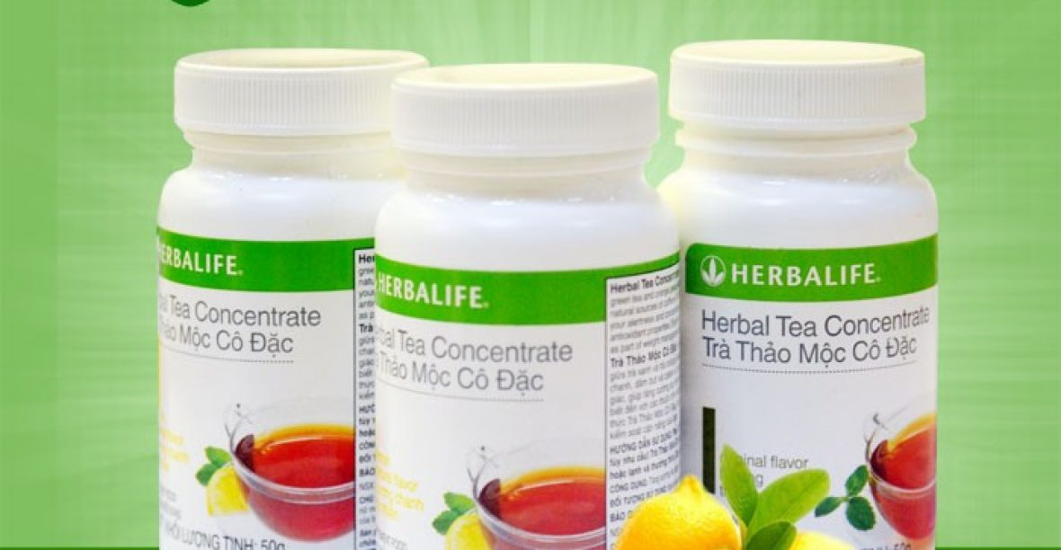 5 Tác Dụng Tuyệt Vời CủaTrà Thảo Mộc Cô Đặc Herbalife Tea Concentrate Hương Chanh