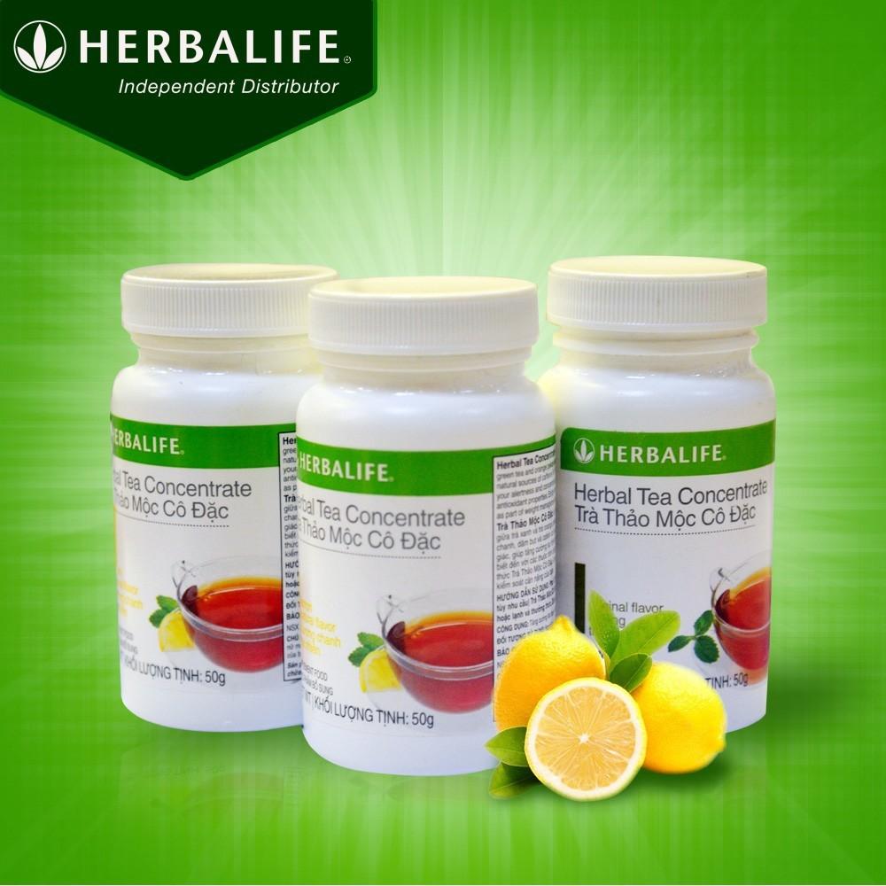 Hướng Dẫn Cách Pha Trà Thảo Mộc Cô Đặc Herbalife Tea Concentrate