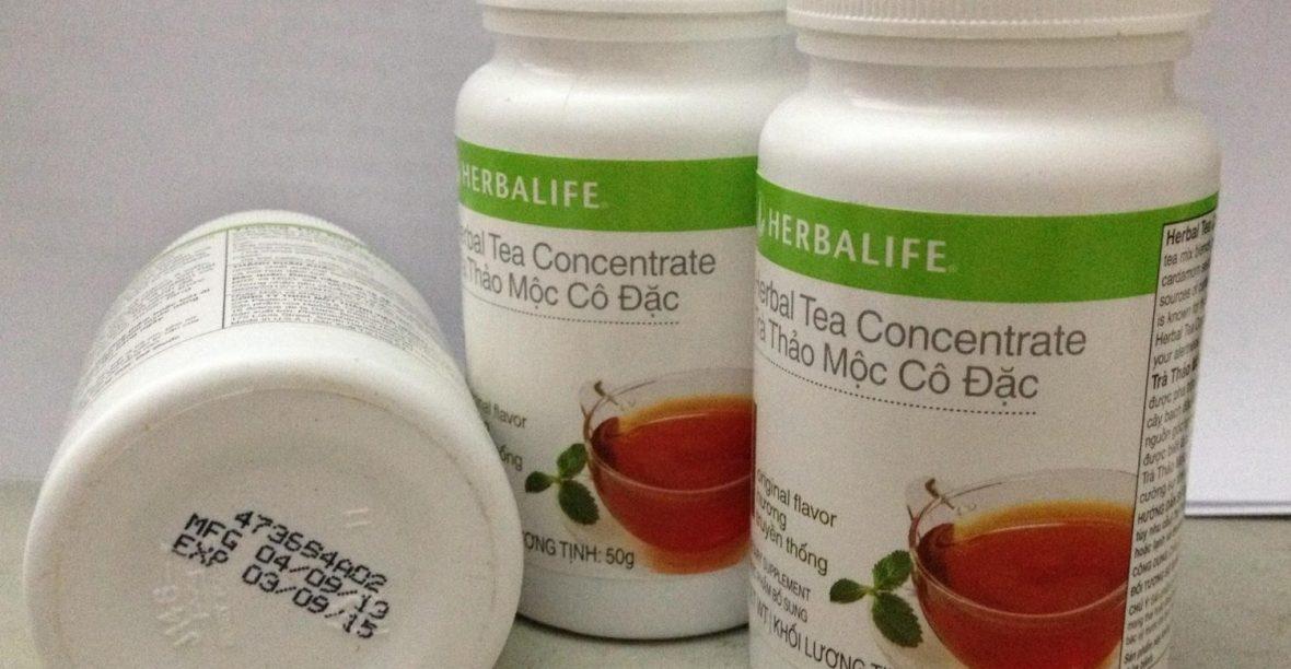 Tác Dụng Của Trà Giảm Cân Herbalife Tea Concentrate Có Gì Nổi Trội?