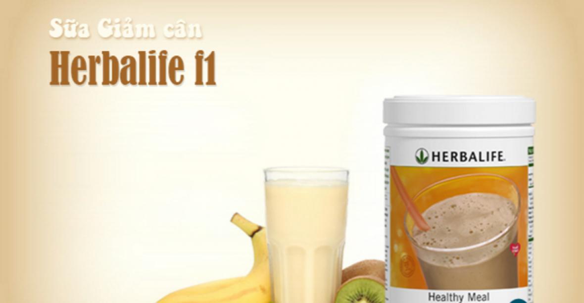 Sữa Giảm Cân Herbalife Formula 1 Healthy Meal Hương Bánh Quy Kem