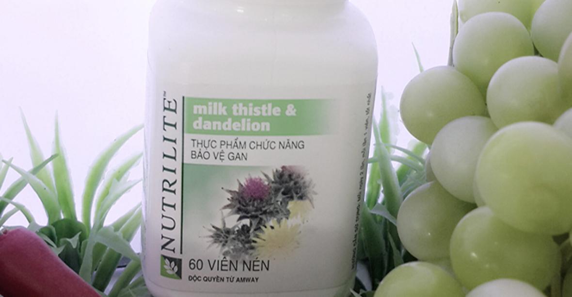 CHIA SẺCẢM NHẬN VỀ NUTRILITE MILK THISTLE AMWAY& DANDELION