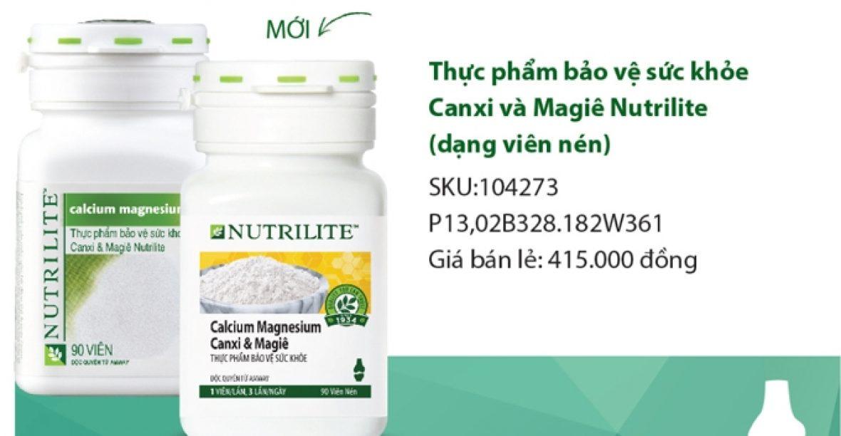 Bán Canxi Amway Nutrilite Calcium Magnesium Canxi & Magiê Giá Rẻ Toàn Quốc