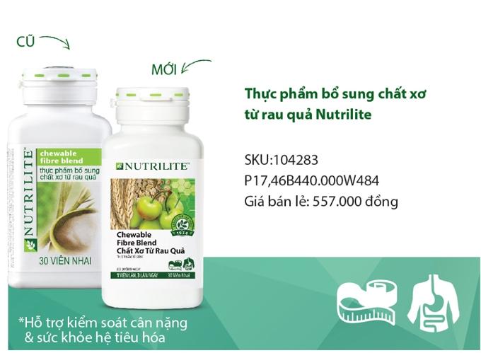 Tác Dụng Của Viên Chất Xơ Amway Nutrilite Chewable Fibre Blend