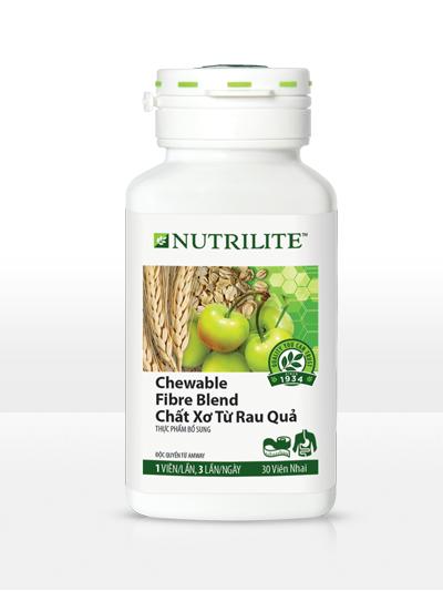 Viên Chất Xơ Amway Nutrilite Chewable Fibre Blend Mẫu Mới