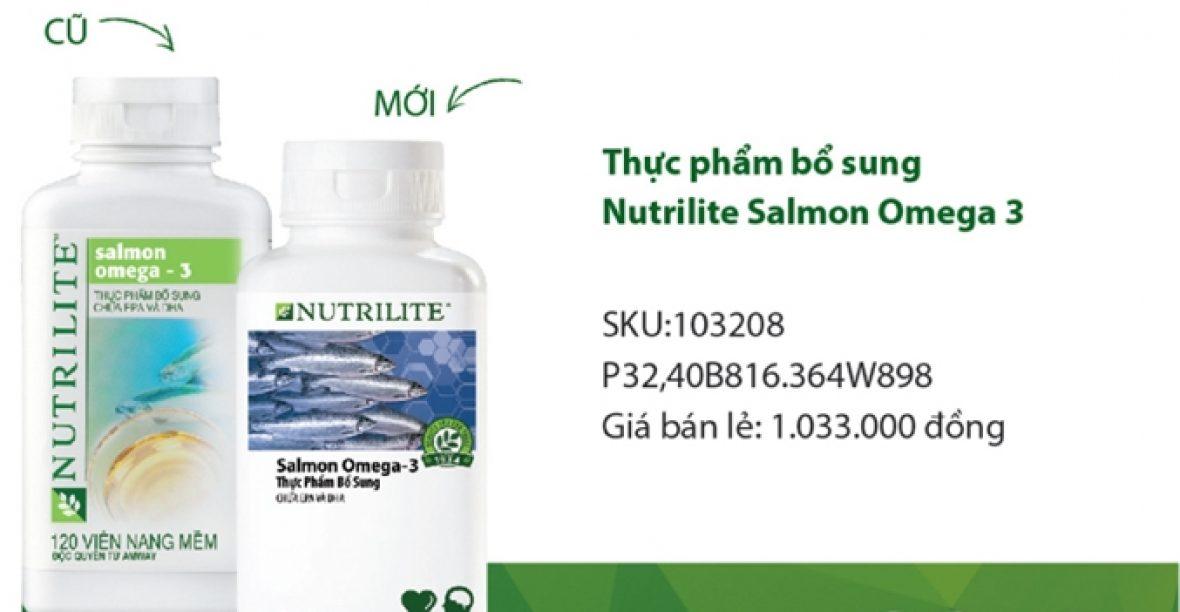 Cảm Nhận Sử Dụng Viên Dầu Cá Nutrilite Salmon Omega 3 Amway