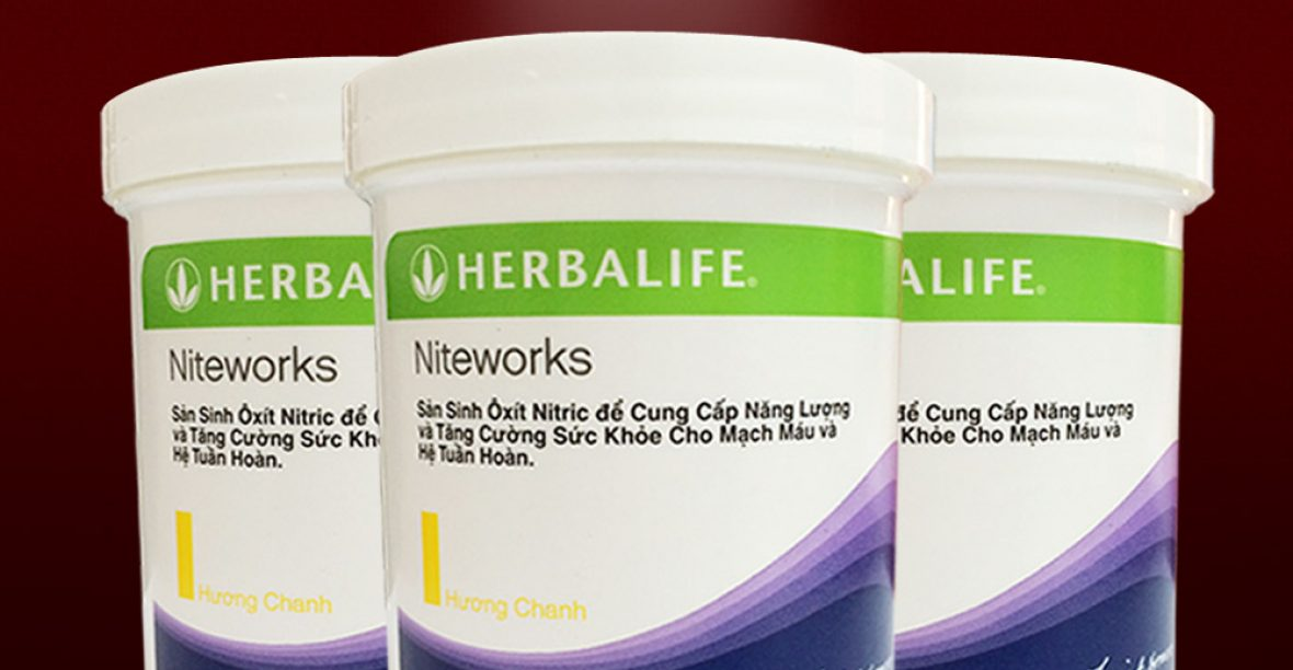 Tác dụng của Niteworks Herbalife đối với sinh lý nam