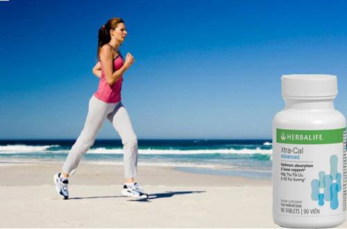 Tác dụng của Canxi Herbalife Xtra Cal Advanced với bệnh loãng xương