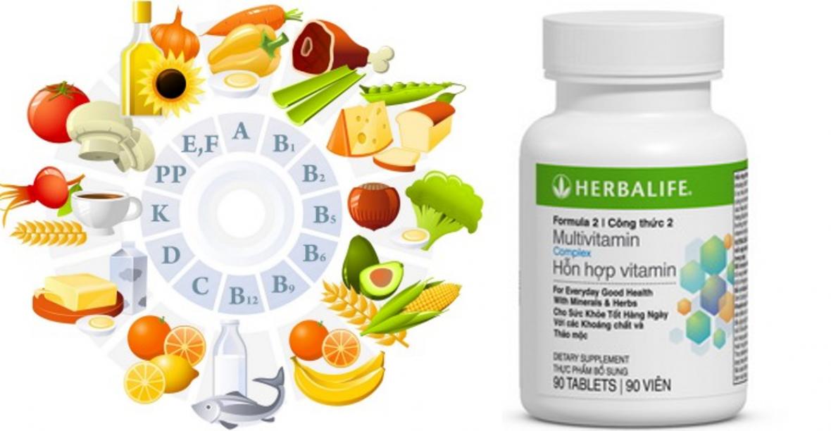 Địa Chỉ Uy Tín Bán Formula 2 công thức 2 Multivitamin Herbalife Giá Rẻ
