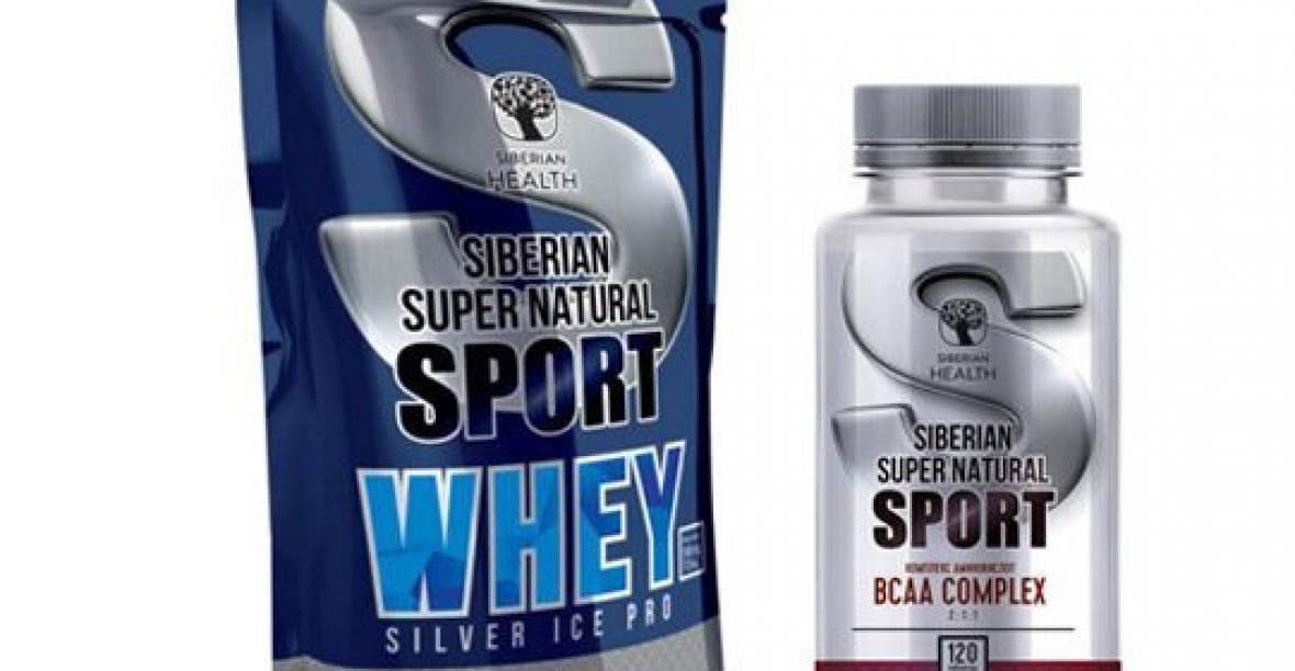 Siberian Supernatural Sport BCAA Complex Cơ Bắp Khỏe Mạnh