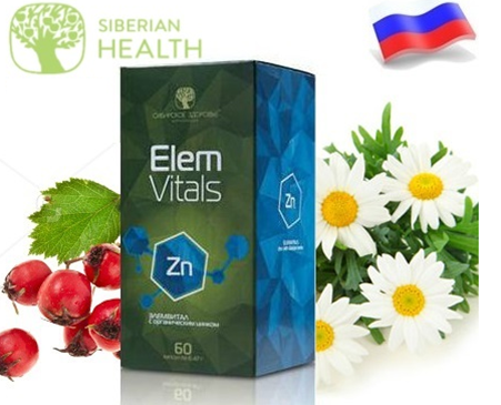 Elemvitals Calcium with Siberian herbs Canxi & Mage Hỗ Trợ Xương Khớp