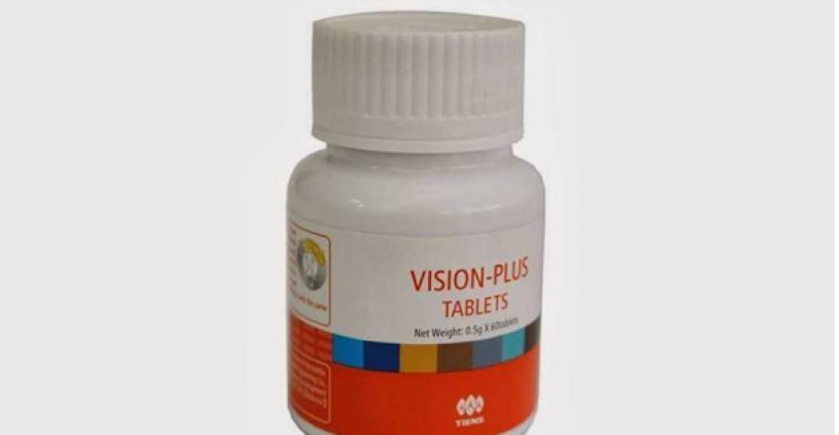 Viên bổ mắt Tianshi Vision Plus tablets Tiens – Thiên Sư