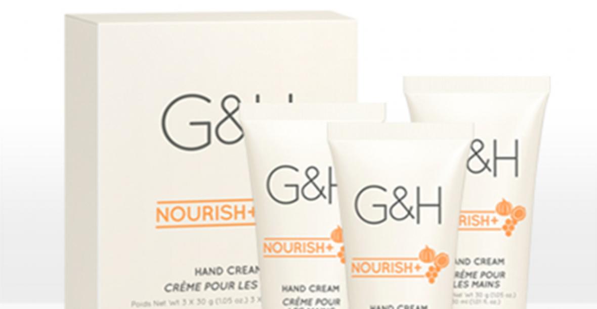 Kem Kưỡng Ẩm Da Tay G&H Nourish+ Nano Cream (3x30g)
