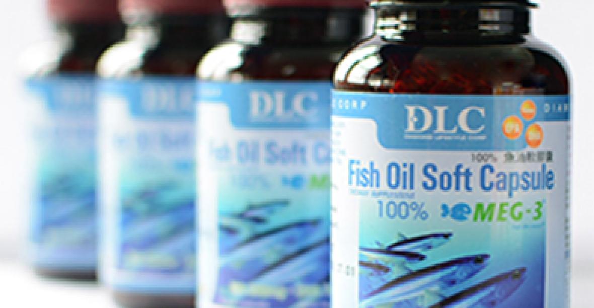 Viên Dầu Cá Fish Oil Capsule Giảm Mỡ Trong Máu, Trong Gan, Bảo Vệ Mắt
