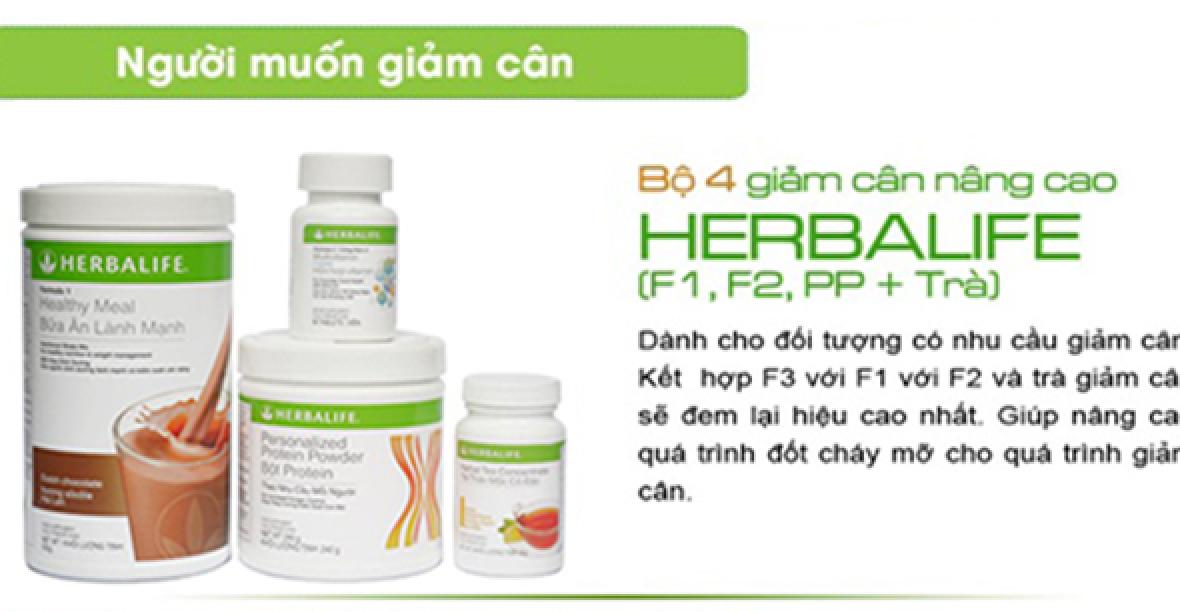 Uống Bộ Giảm Cân Herbalife Như Thế Nào Cho Hiệu Quả?