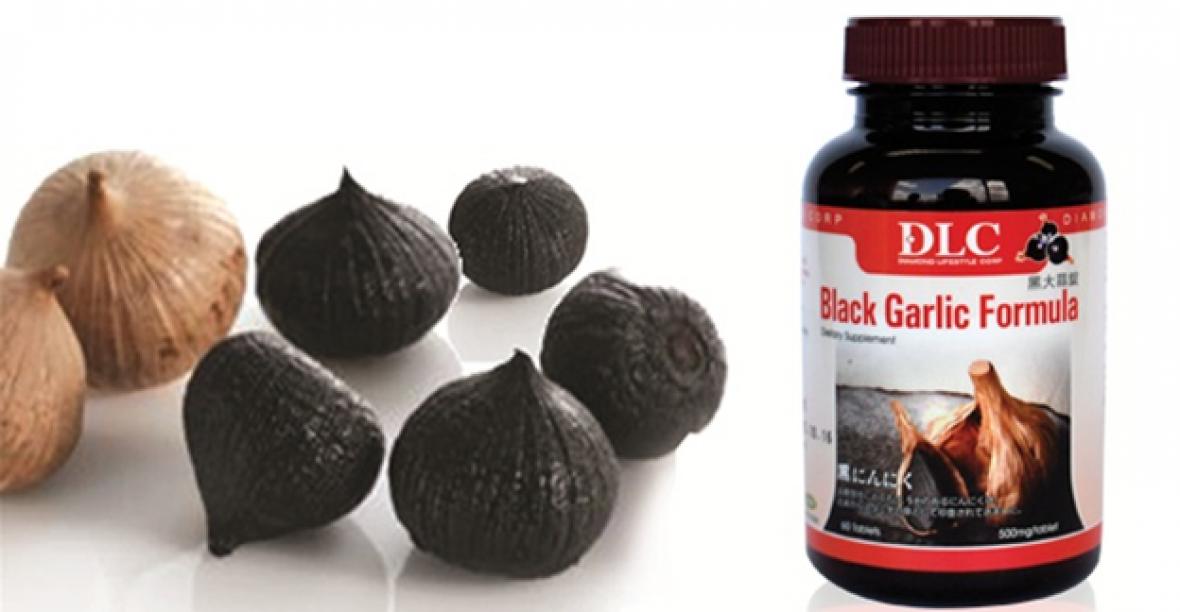 """Viên Nang Tỏi Đen Black Garlic Formula Mang Đến Sức Khỏe """"vàng"""""""