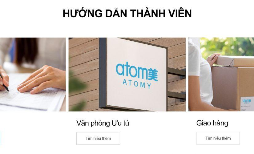 Cách đăng ký hội viên công ty Atomy Hàn Quốc