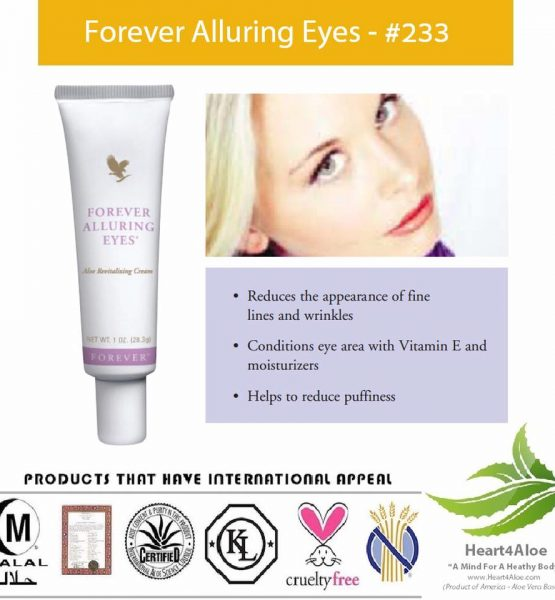 Kem Dưỡng Da Mí Mắt Forever Alluring Eyes 233 Flp Có Tốt Không?